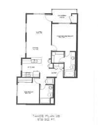 Two Bedroom at StonePointe, University Place, WA