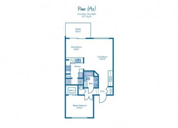 One Bedroom at Pinebrook Pointe, Margate