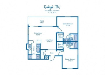 Two Bedroom at Pinebrook Pointe, Margate, FL, 33063