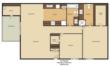 Floor Plan The Palmetto, opens a dialog
