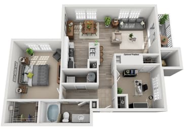 Floor Plan A6.1ar