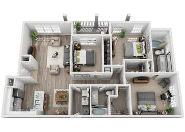 Floor Plan C1.3ar