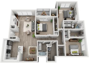 Floor Plan C4.3ar
