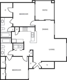 Junction two bedroom two bathroom at Tempe Station, Tempe, 85281