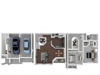 Hickory Floor Plan| Cypress Legends