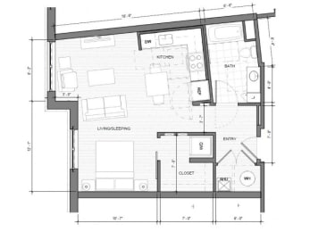 Studio-C-Floorplan| Merc