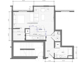 Studio D Floor Plan| Merc