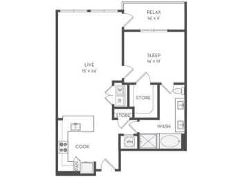 A8 Floor Plan |District of Rosemary