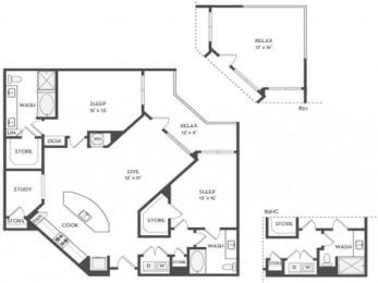 B10S Floor Plan |District of Rosemary