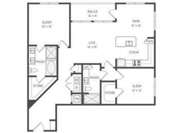 B7 Floor Plan |District of Rosemary