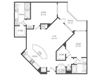B8 Floor Plan |District of Rosemary