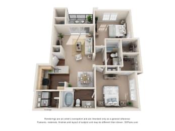 Floor Plan Tranquility