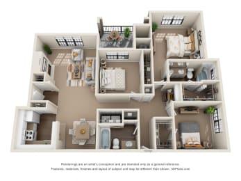 Floor Plan Live Oak, opens a dialog