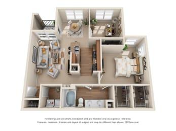 Floor Plan The Brenham