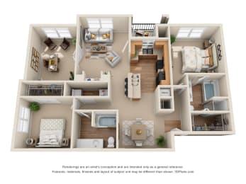 Floor Plan The Del Rio