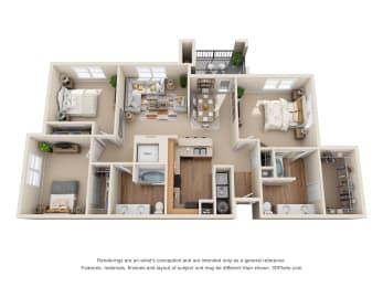Floor Plan The Odessa