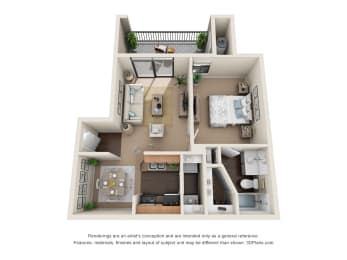 Floor Plan Brazos