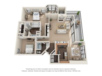 Floor Plan Sabine