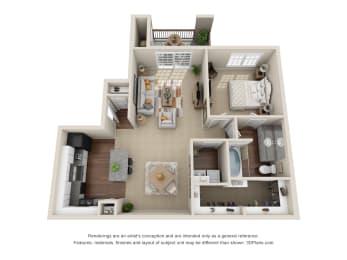 Floor Plan A2 Allegro