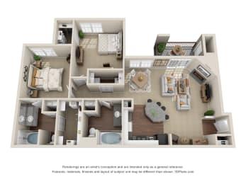 Floor Plan B1 Bocelli