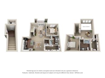 Floor Plan B2 Bellagio