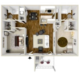 Floor Plan The Villa