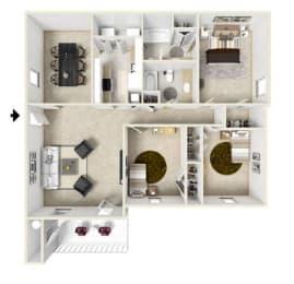 Floor Plan Three Bedroom