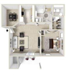 Floor Plan 1 Bedroom (phase 2)