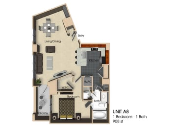 Floor plan at Aurora, Maryland, opens a dialog