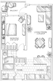 Floor Plan Cadogan