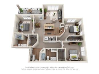 Floor Plan Camargo