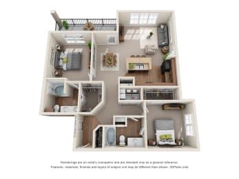 Floor Plan Medinah