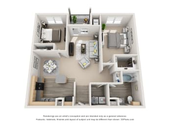 Floor Plan Noble with 1 car Garage, opens a dialog