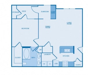 The Bellevue Floor Plan at The Reserve at Maryville, Maryville, Tennessee