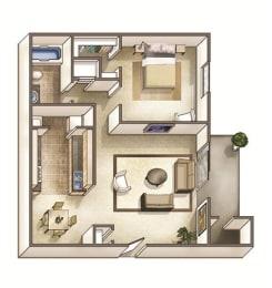 The Bedford Floor Plan at Park Ridge Estates, Durham