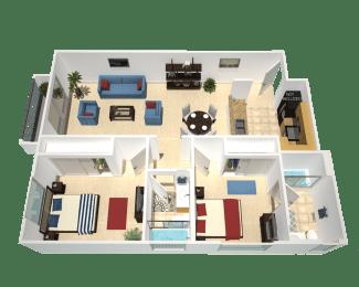 Floor Plan Rimini, opens a dialog