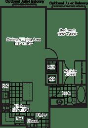 Floor Plan A16