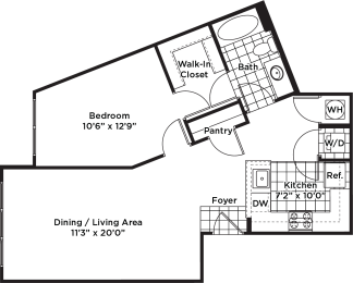 Floor Plan A19