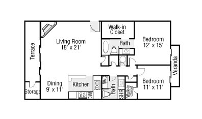 Two Bedrooms Two Bathrooms, opens a dialog