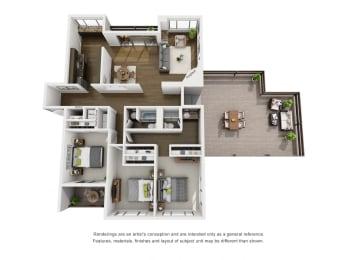 Floor Plan Penthouse B