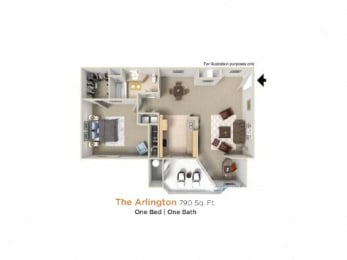 Floor Plan Arlington Premier