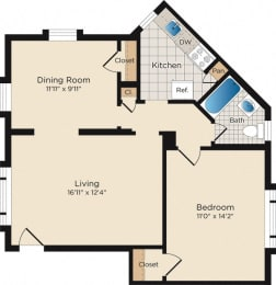 Floor Plan A10 - North