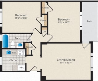 Floor Plan B01 - North