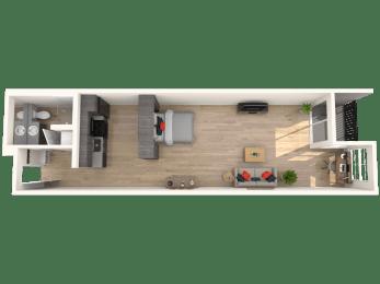 Floor Plan Flat