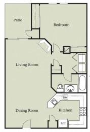 Floor Plan Aragon w/Carport