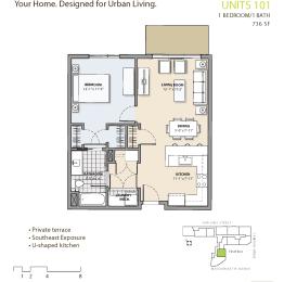 Floor Plan at 7 Cameron, Massachusetts