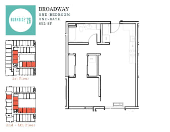 One Bedroom | One Bathroom, opens a dialog