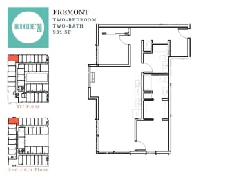Two Bedroom | Two Bathroom, opens a dialog