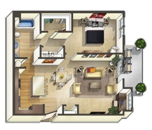 Redwood Floor Plan at The Trails at Timberline, Fort Collins,Colorado