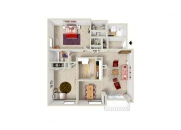 Floor Plan 2B 2BA LG (K)